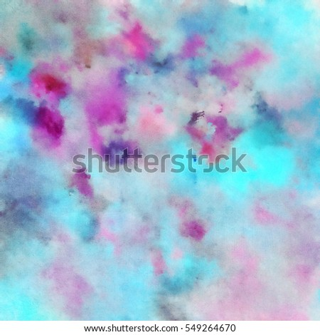 Colorful waterpainted background