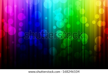 Colorful with bokeh texture asbtract background . - stock photo