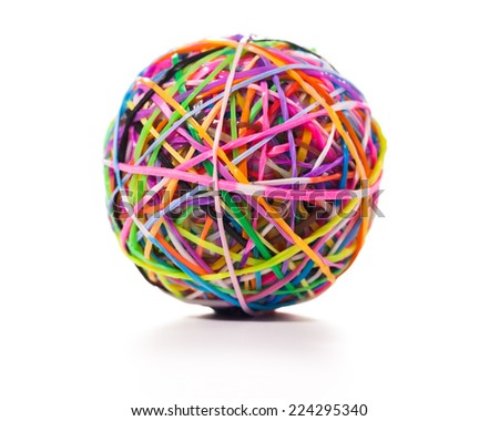 how to make a loom band ball