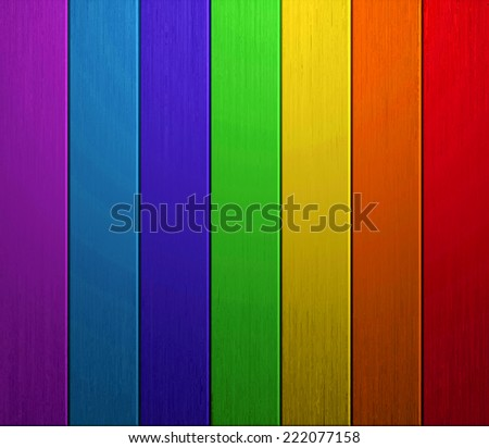 Colorful Wood and wall Background - stock photo