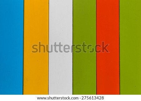 colorful wood. background colorful panels