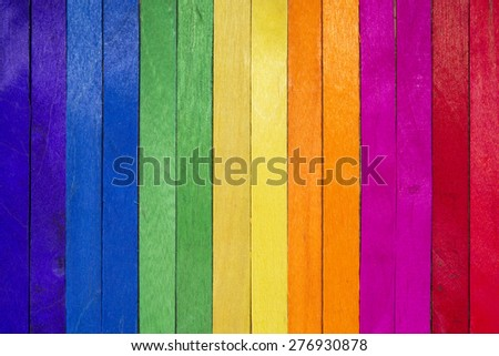 Colorful wood vertical separated for abstract background  - stock photo