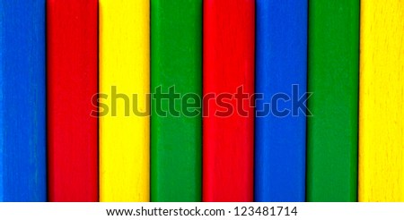 Colorful wooden background - stock photo