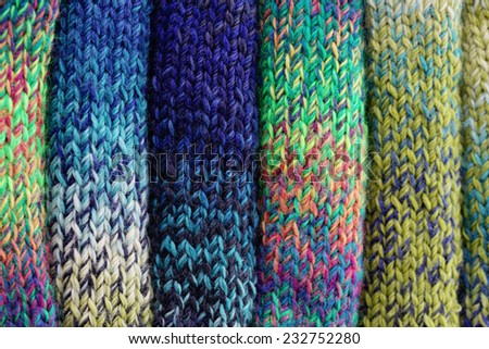 colorful wool - needlecraft