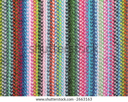 Colorful wool pattern - stock photo