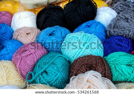 Colorful Woolen
