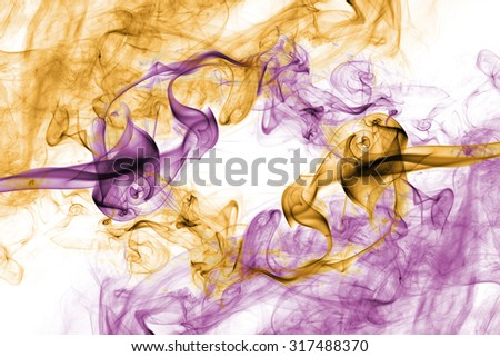 Colorful yellow pink vintage smoke abstract background - stock photo