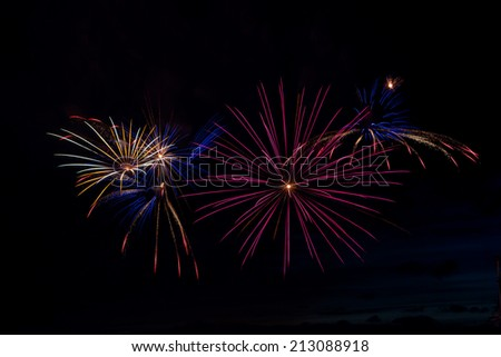 Colors in the Sky - stock photo