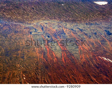 Colors of desert - stock photo