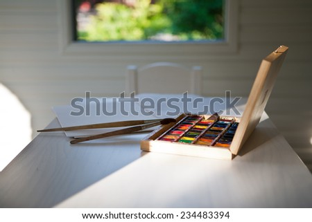 Colors on the table