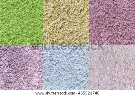 Colors wall texture or background - stock photo