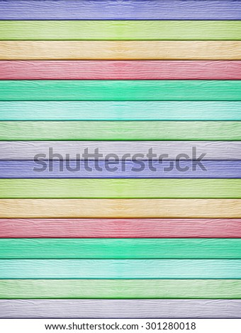 Colors wood plank wall texture background