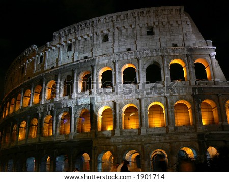 Colosseo in night