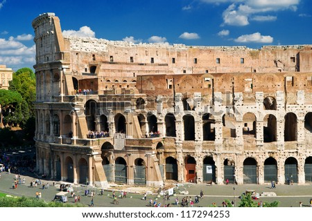 Colosseum (Coliseum) in Rome, Italy