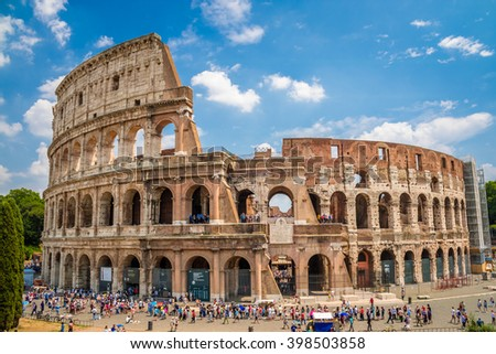 Colosseum, Rome, Italy - stock photo