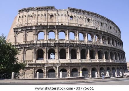 Colosseum - Rome, Italy - stock photo