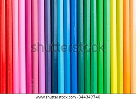 Colour pencils background
