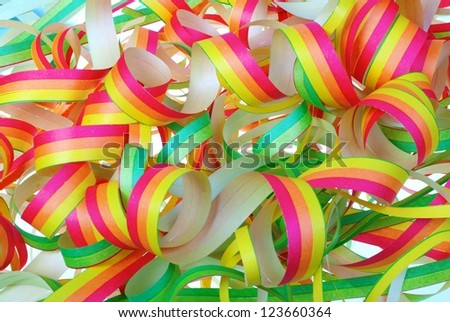 coloured paper as background - stock photo