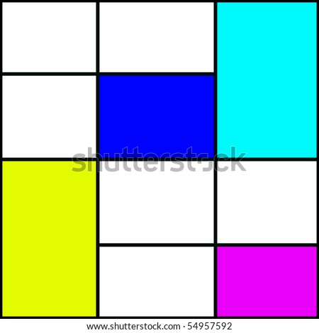 coloured square