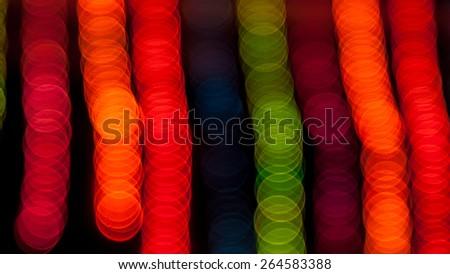Coloureful decorative celebration blurred background - stock photo
