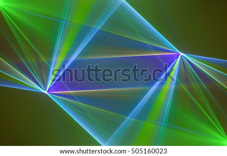 Colourful abstract , Abstract background Laser light multicolored for design , Pattern fame with space for text