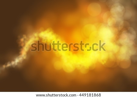 Colourful abstract bokeh on a black background design