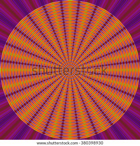 Colourful abstract Laser light Background with space for text or image Pattern circle  It can be used for wallpaper, screen smart phones and computers