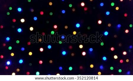 Colourful Bokeh - stock photo