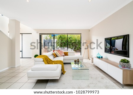 colourful home interior modern furniture decor stock photo royalty