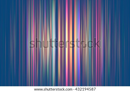 Colourful light streaks on a blue background