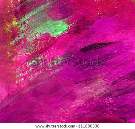 Colourful water color pouring on a paper - stock photo