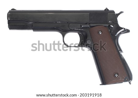 colt government m1911 - stock photo