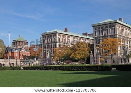 Columbia University Campus - stock photo