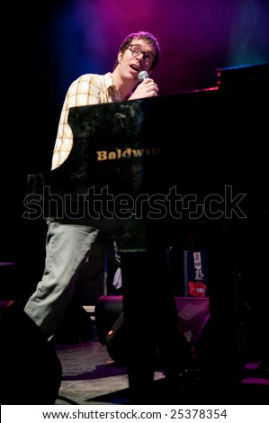 COLUMBUS, OH - FEBRUARY 21: Ben Folds performs live at the LC Pavilion in Columbus, Ohio on February 21, 2009.