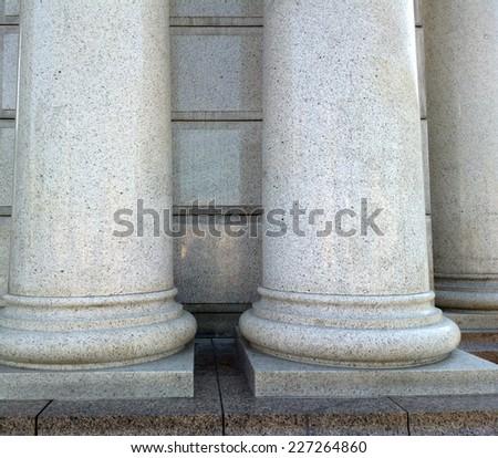 Column. - stock photo