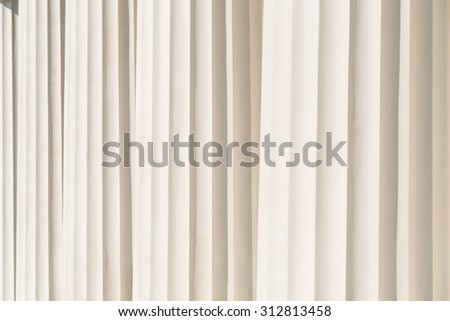 Columns Abstract Architecture Of Ancient Temple - stock photo