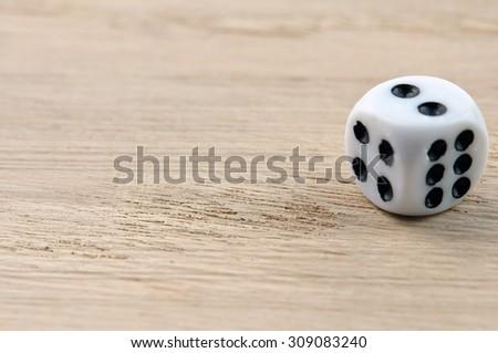 combination of playing bone - stock photo