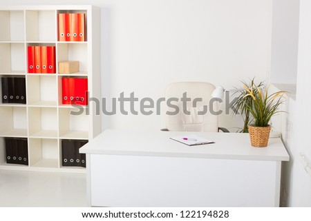 comfortable modern office - stock photo