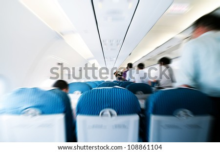 Commercial aircraft interior