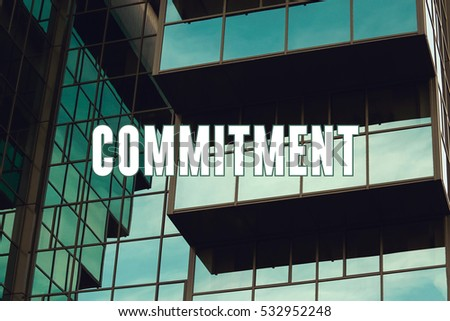 Commitment, Business Concept