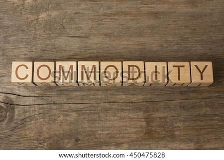Commodity - stock photo