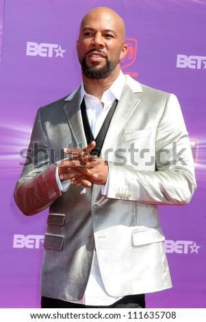 Common arriving at the 2007 BET Awards. The Shrine Auditorium, Los Angeles, CA. 06-26-07