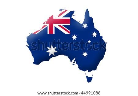Commonwealth of Australia - stock photo