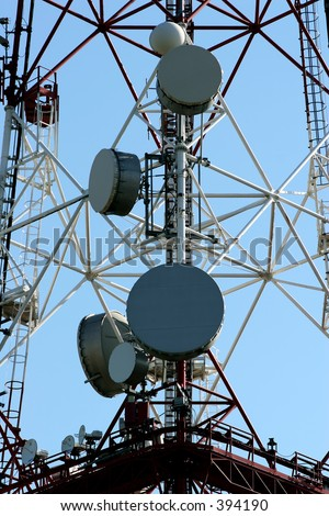 Communication Antenna - Electromagnetic Pollution -