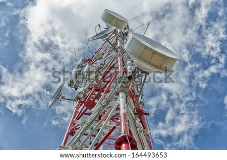 Communication antenna tower is, typically, tall structures designed to support antennas for telecommunications and broadcasting, including television.