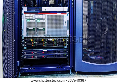 Communication racks II (datacenter)