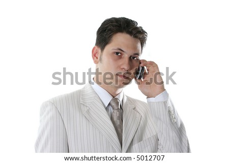 communications business adult telephone talking people success - stock photo
