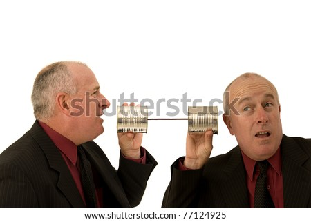 Communications problems - stock photo