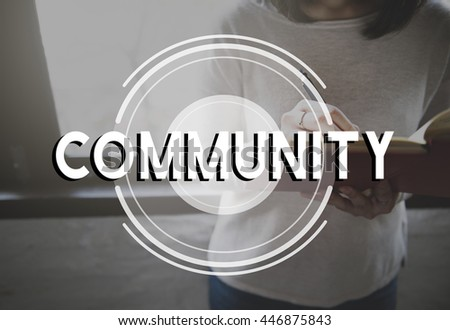 Community Connection Communication Society Unity Concept