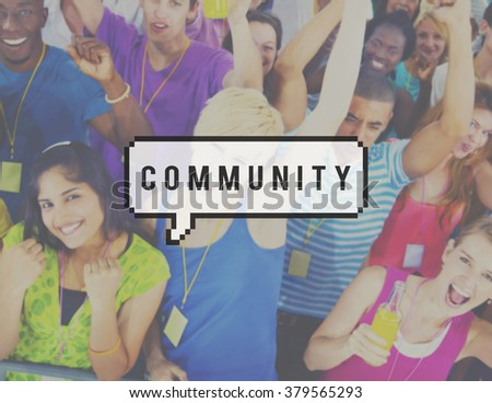 Community People Togetherness Socialize Concept